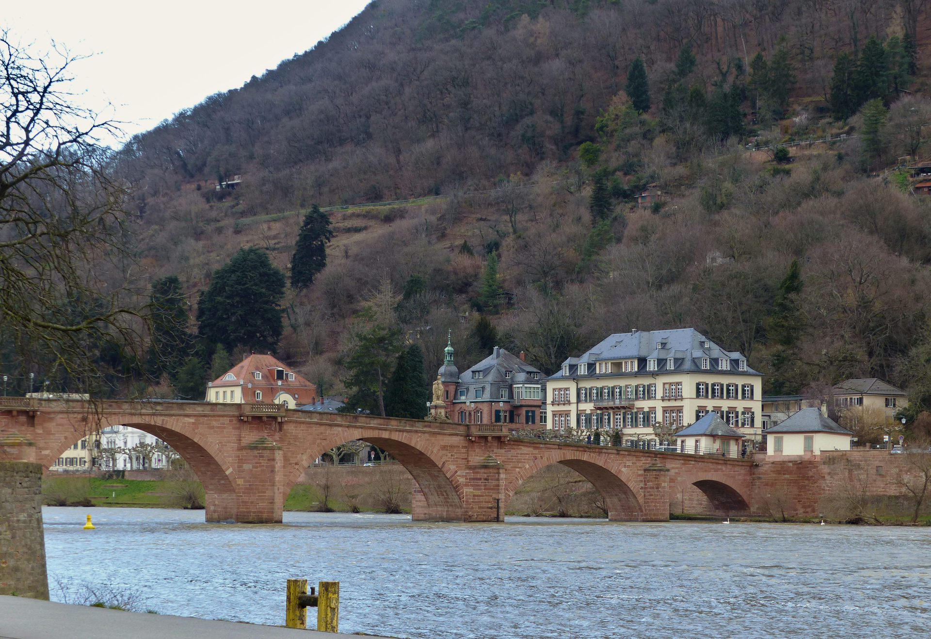 Alte Brücke von B37 aus