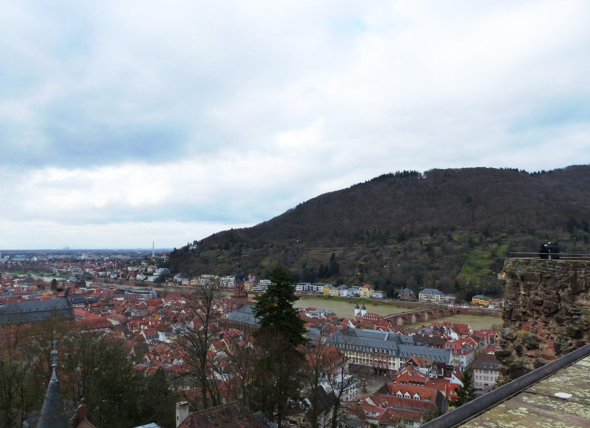 Ausblick auf Heidelberg