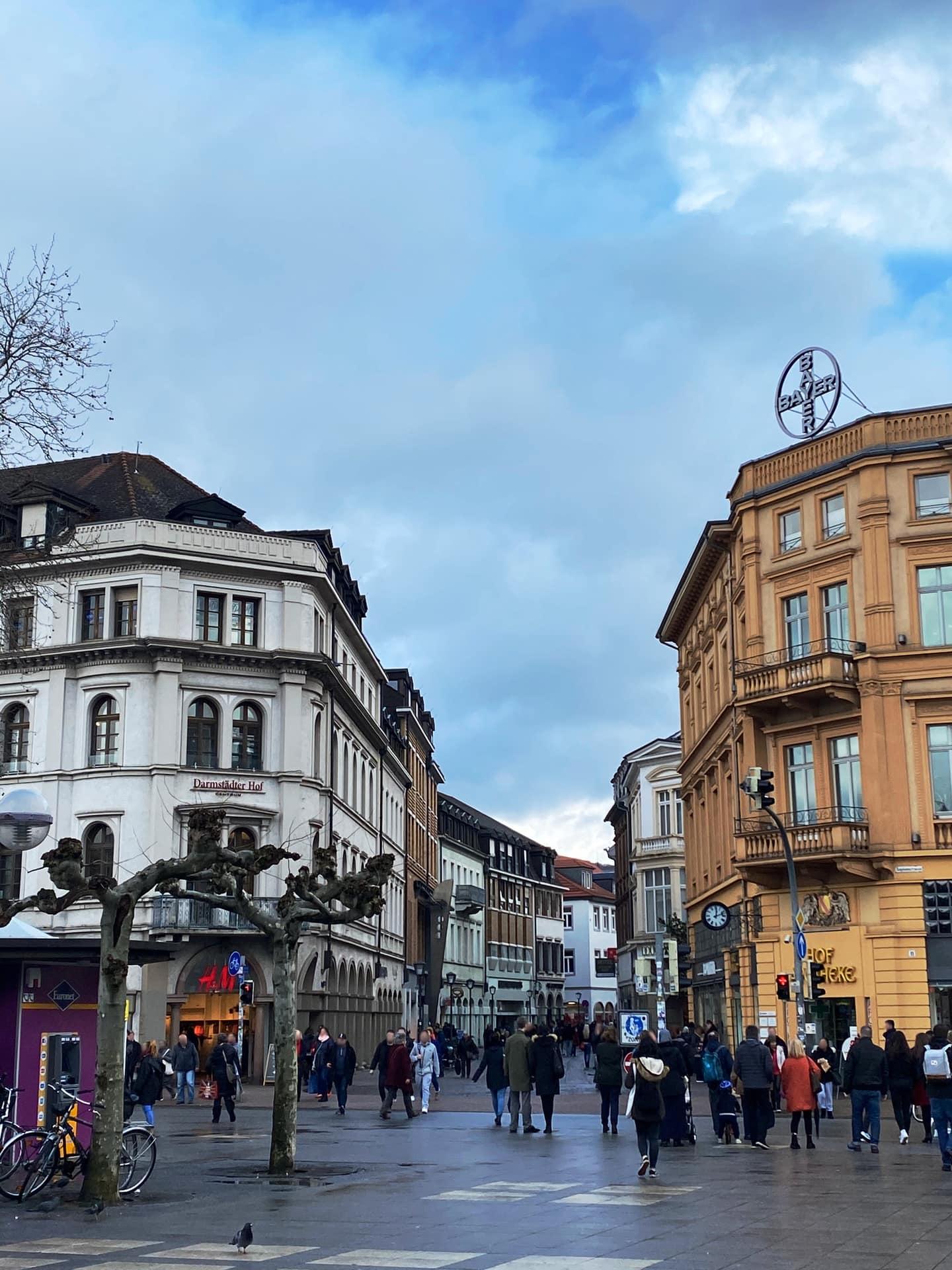 Bismarckplatz start of Hauptstraße