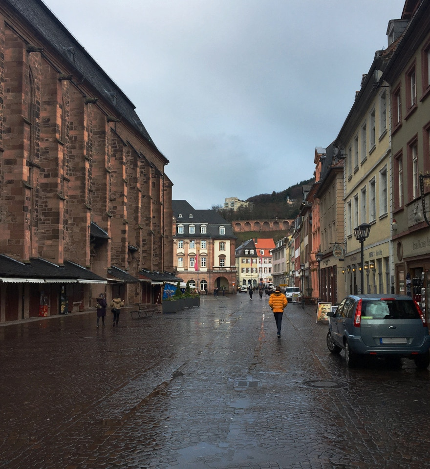 location, Heiliggeistkirche, marketplace, car, people, houses