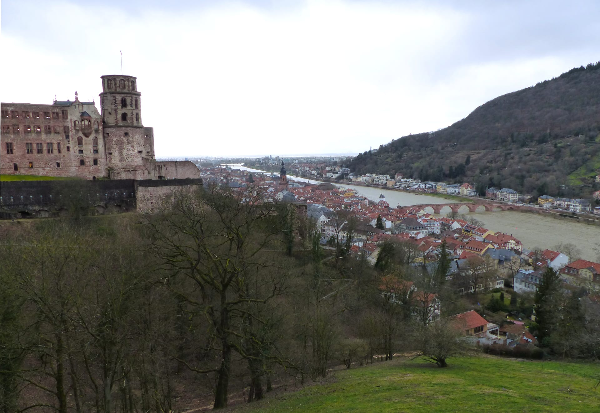 view from Castle Garden