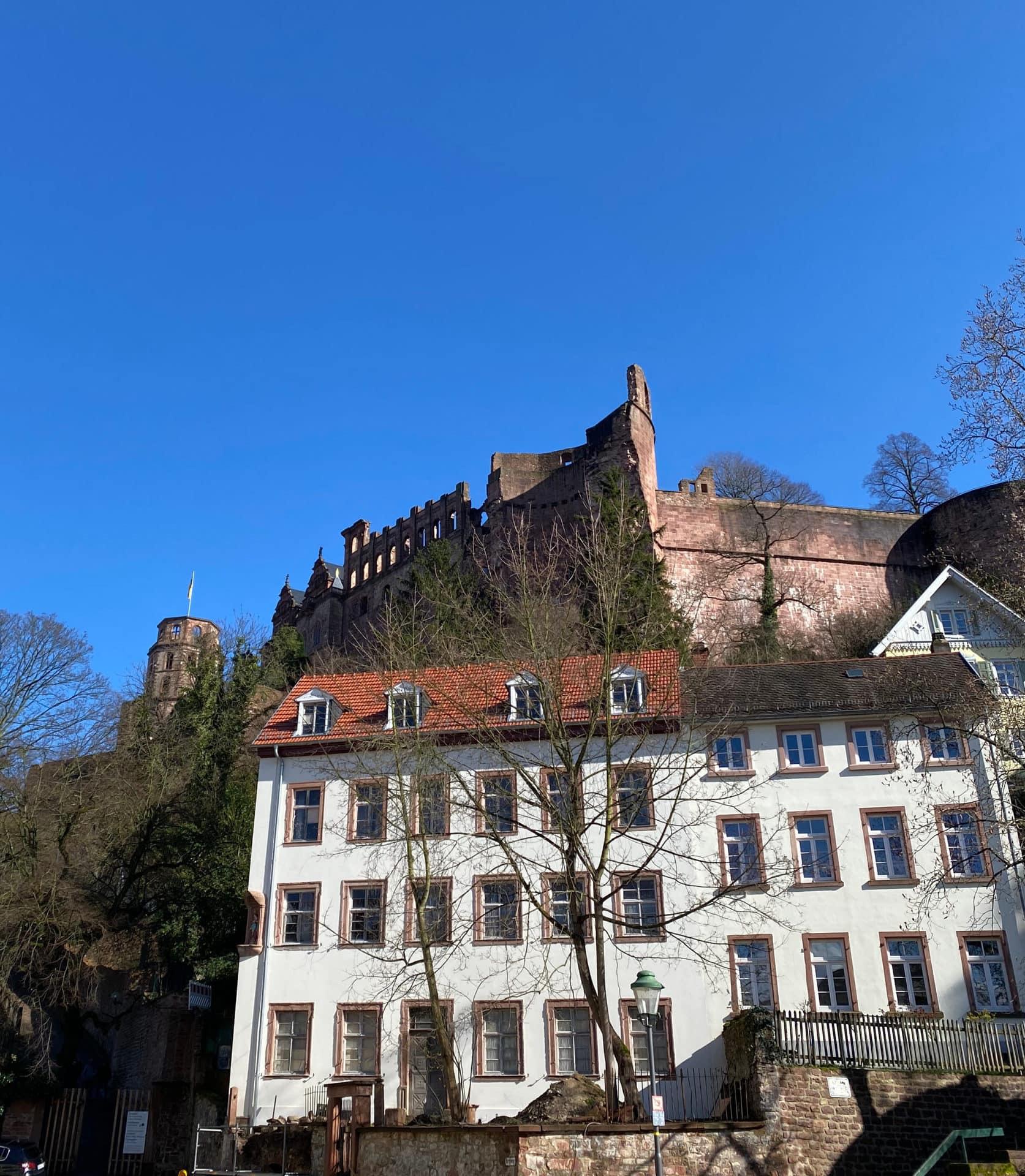 Schloss von Unten