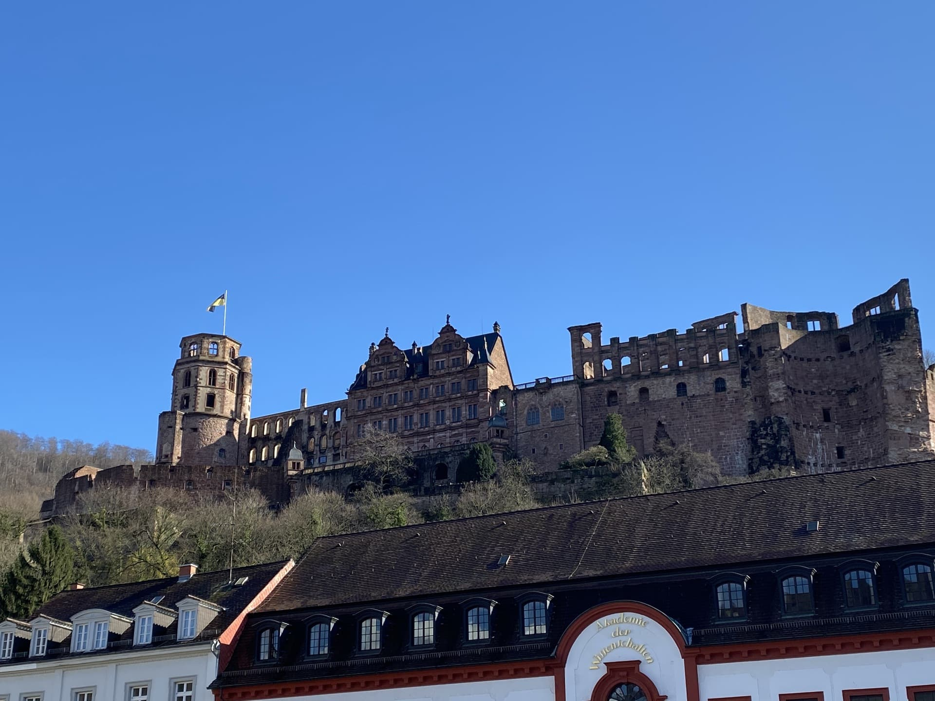 castle view Karlsplatz