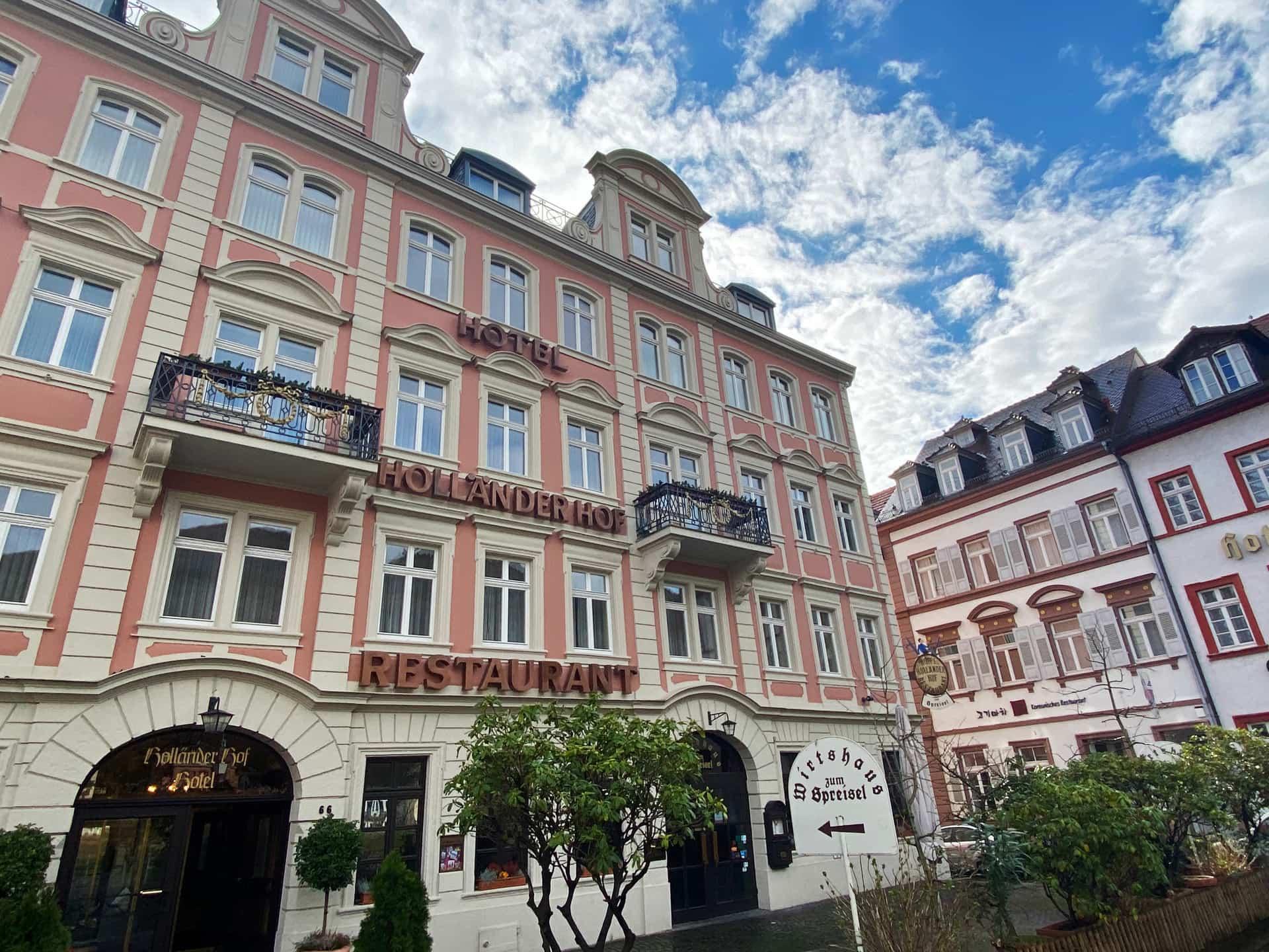 Hotel Holländer Hof Heidelberg