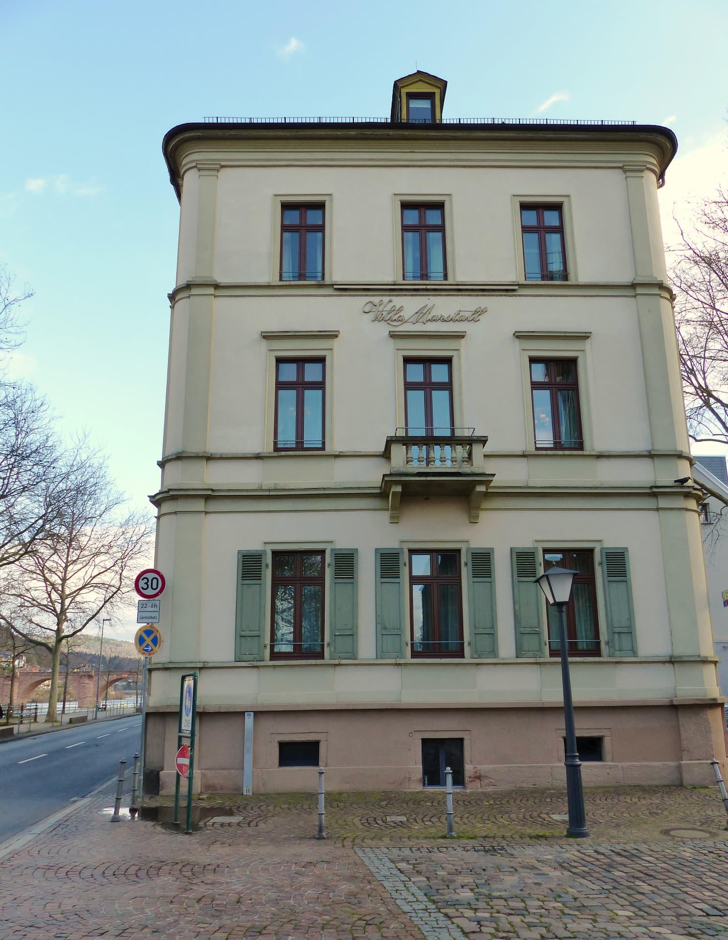 Villa Marstall Front