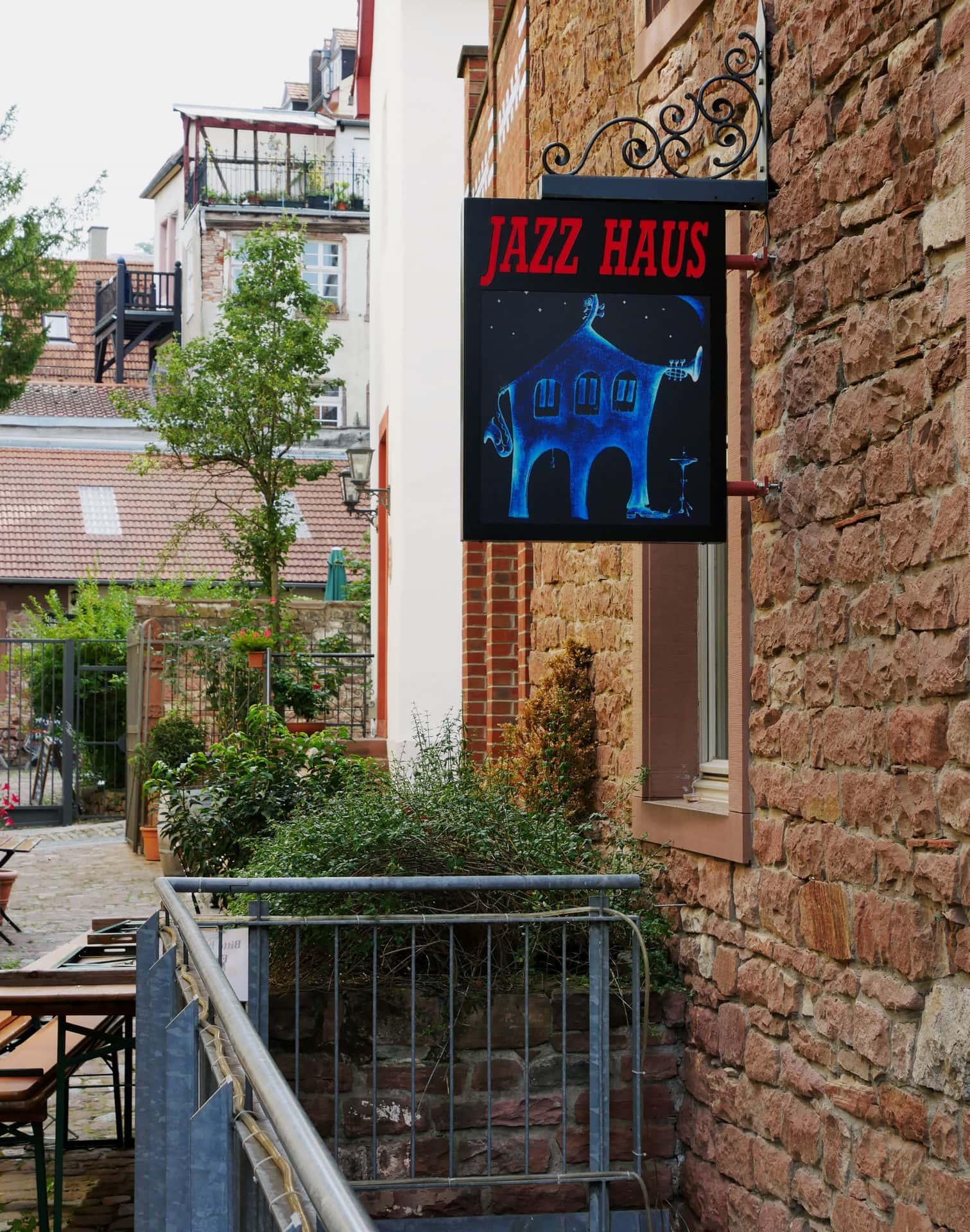 Jazzhaus Eingang