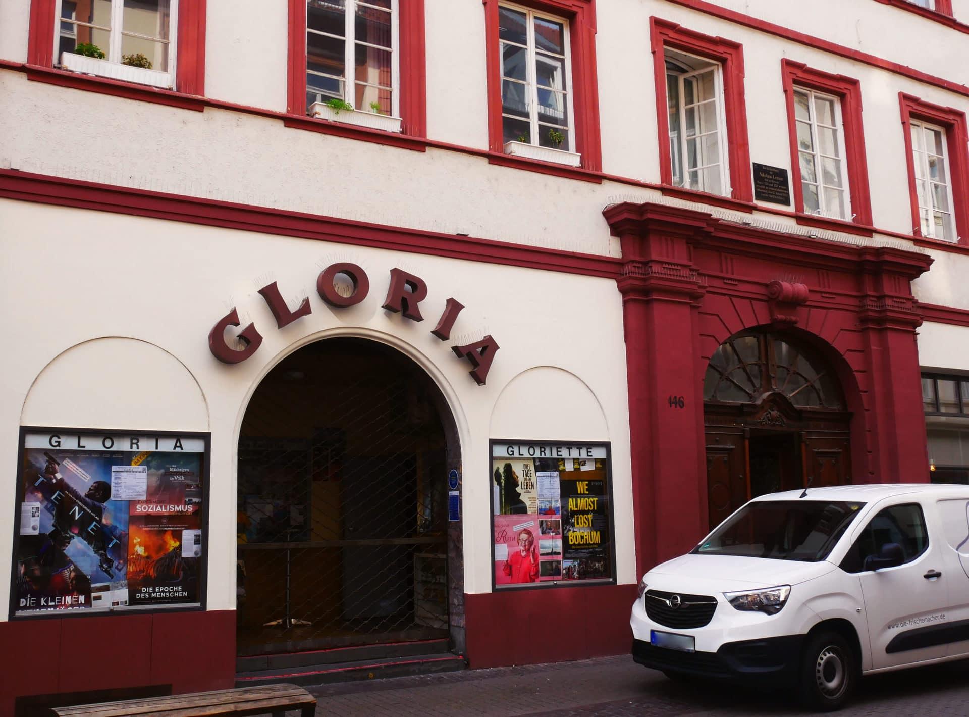 Gloria und Gloriette Eingang