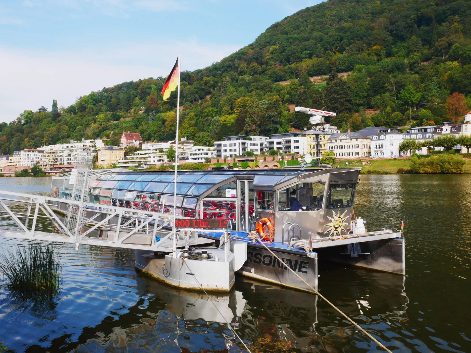 Schiff Neckarsonne vorderansicht