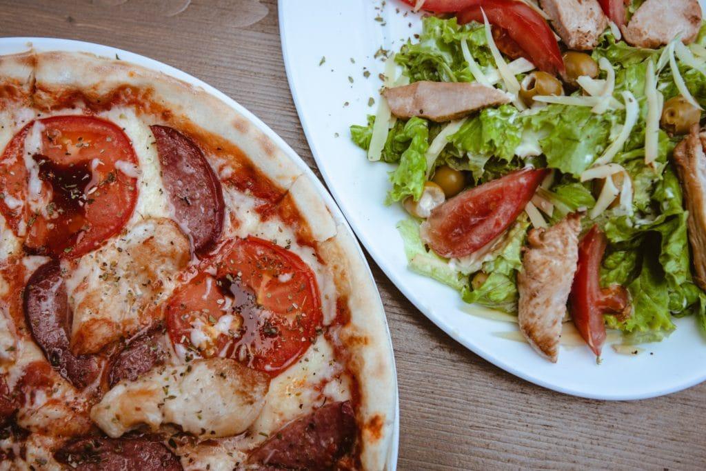 salate, pasta & salat: die beste speisekarte lässt nichts vermissen